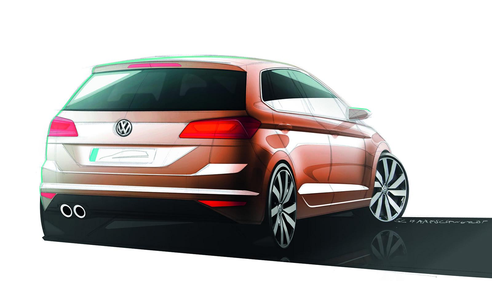 vw golf sportsvan concept unveiled is actually the golf plus autoevolution. Black Bedroom Furniture Sets. Home Design Ideas