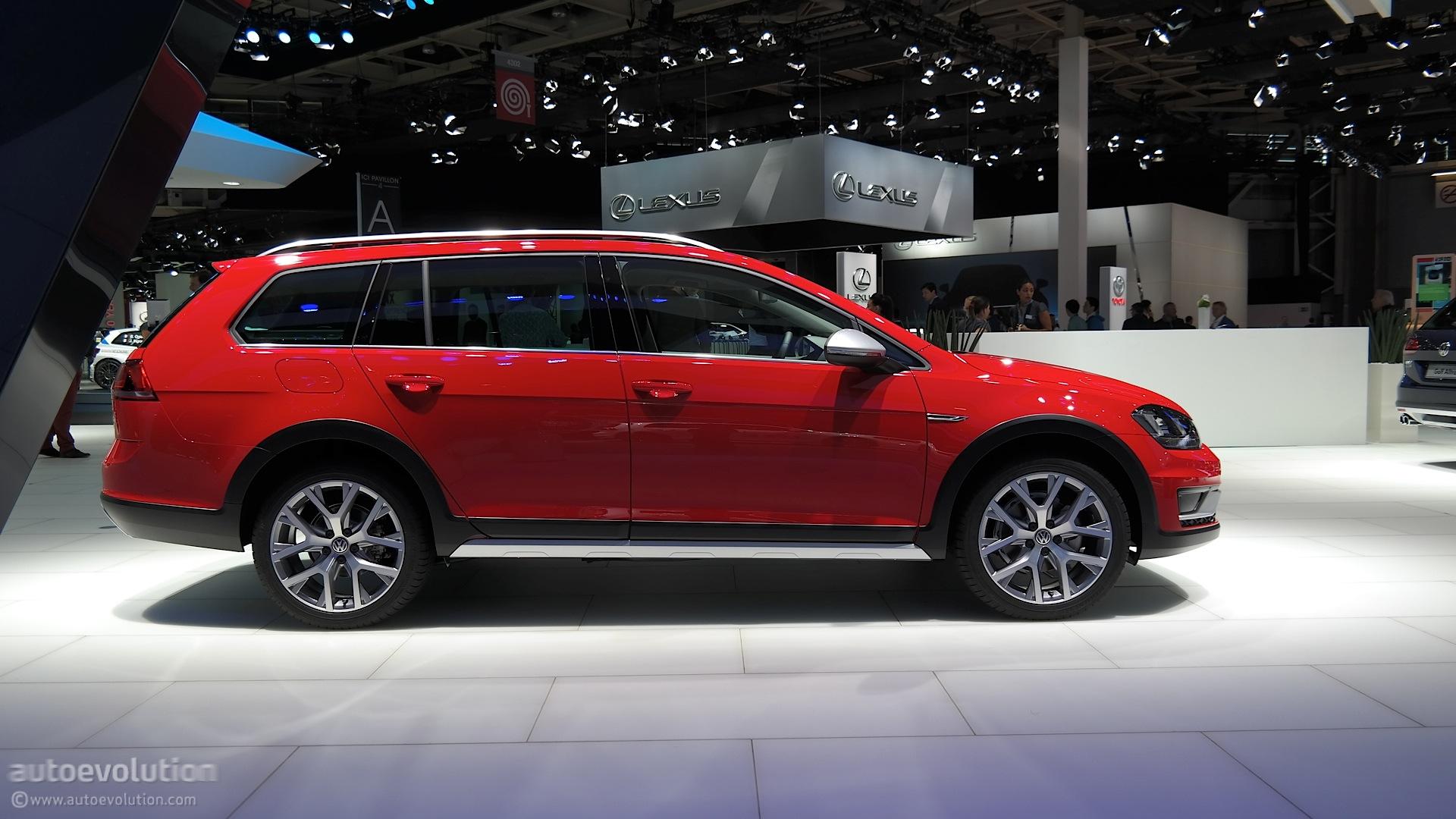 VW Golf SportWagen Alltrack US Debut Confirmed for 2016 ...