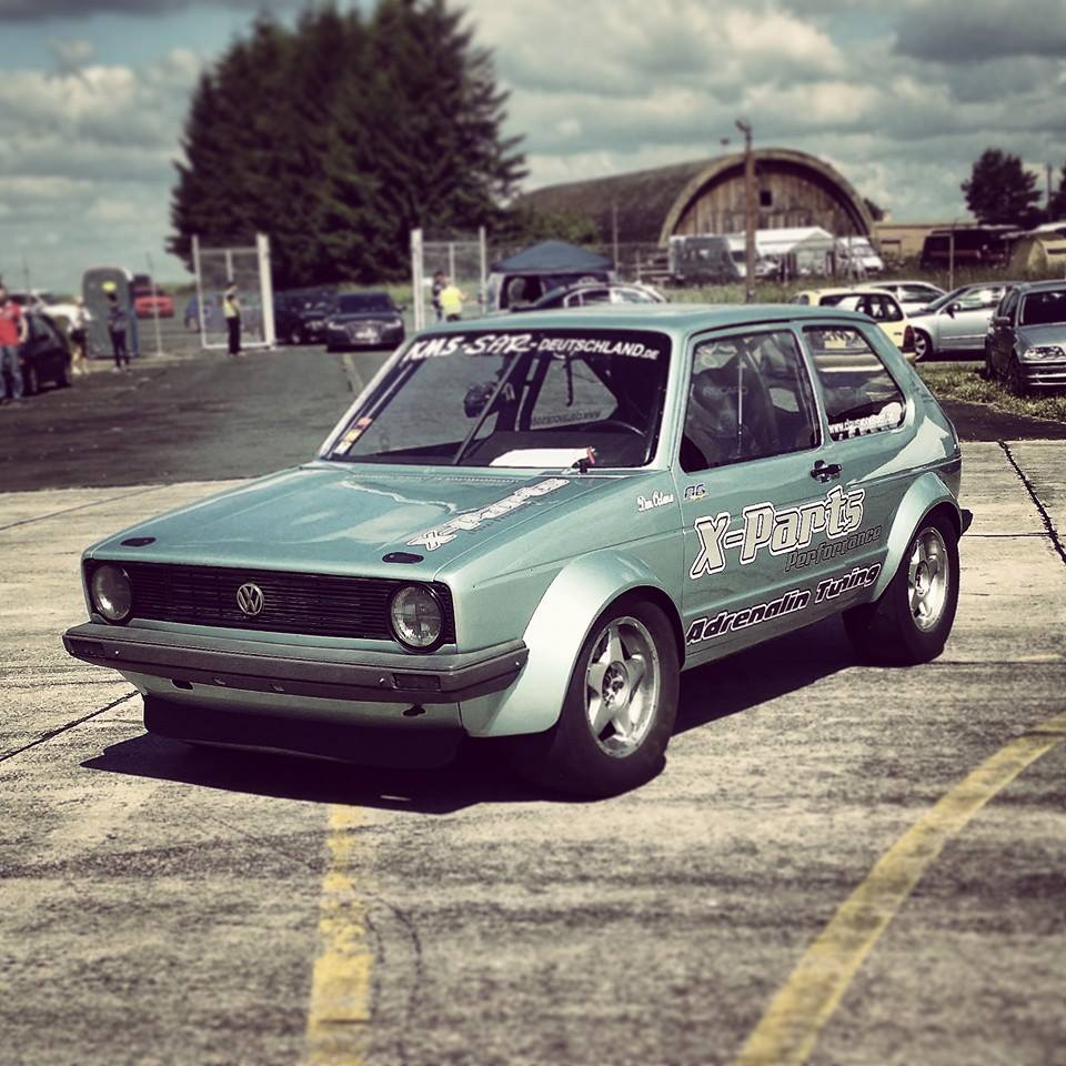 Vw Golf With 1150 Hp And 4motion Takes Midnight Stroll Autoevolution