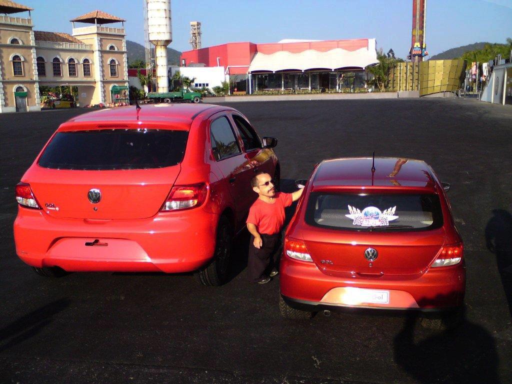 VW Mini Gol, Small Car for Little People - autoevolution