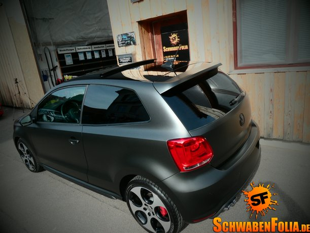 Matte Black Bmw >> VW Polo GTI Gets Diamond Matte Black Wrap - autoevolution