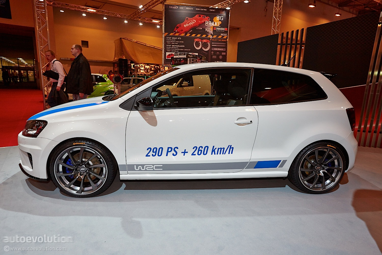 vw polo r wrc by abt at essen 2013 live photos autoevolution. Black Bedroom Furniture Sets. Home Design Ideas