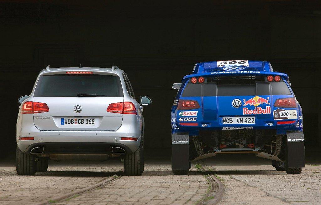 VW Race Touareg 3 Dakar Challenger Unveiled - autoevolution