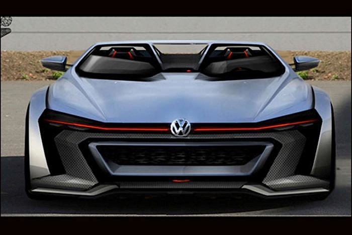 Рисунок Volkswagen GTI Roadster Vision Gran Turismo