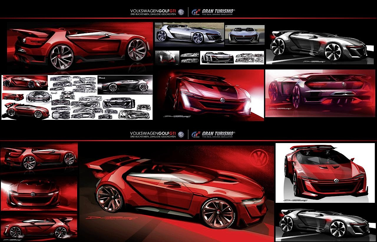 Все ракурсы Volkswagen GTI Roadster Vision Gran Turismo