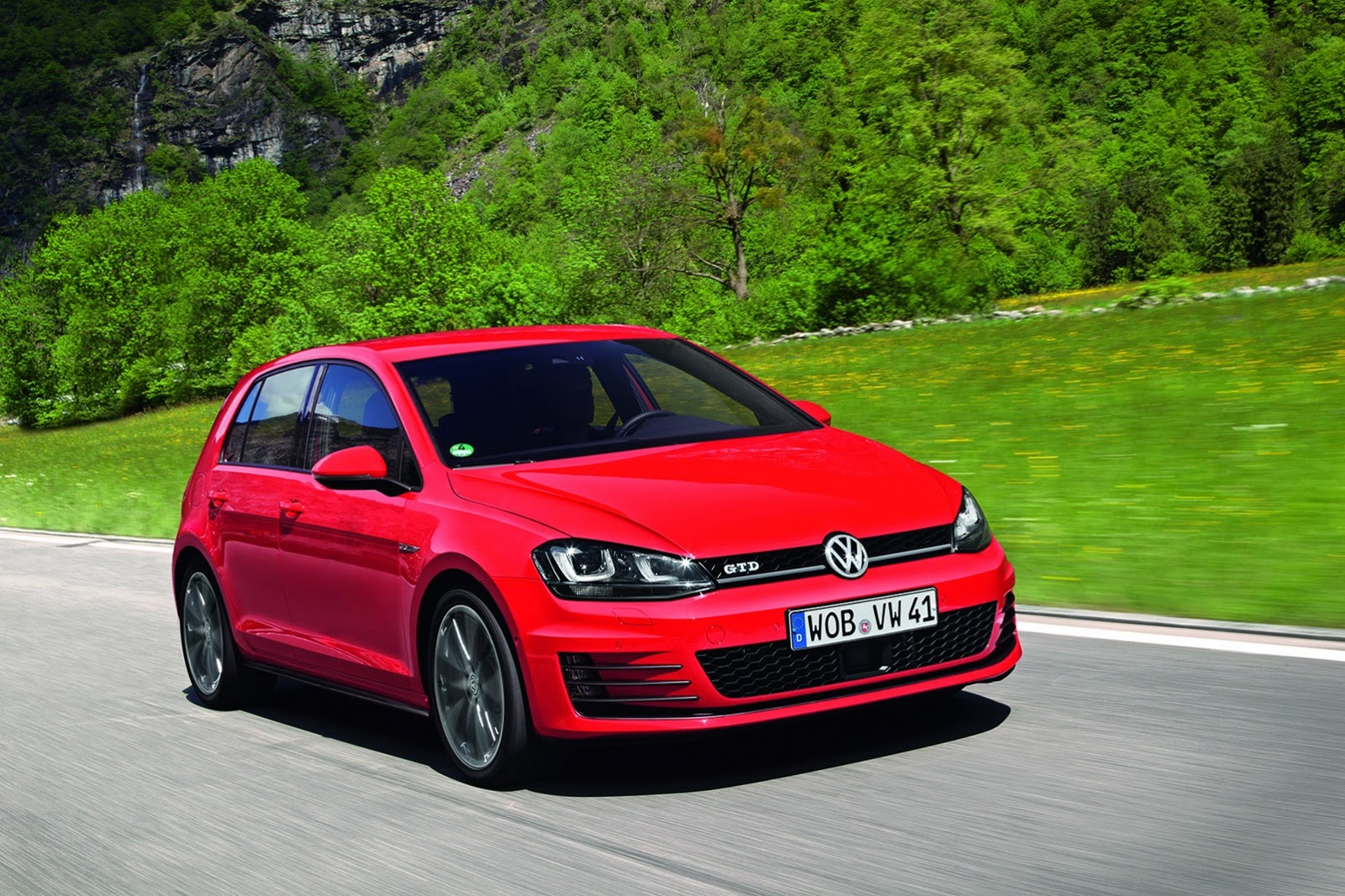 vw reveals new golf 7 gtd photos autoevolution. Black Bedroom Furniture Sets. Home Design Ideas