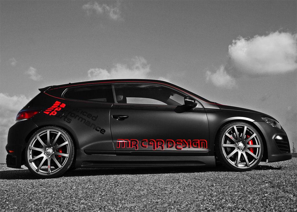 Vw Scirocco Black Rocco By Mr Car Design Autoevolution