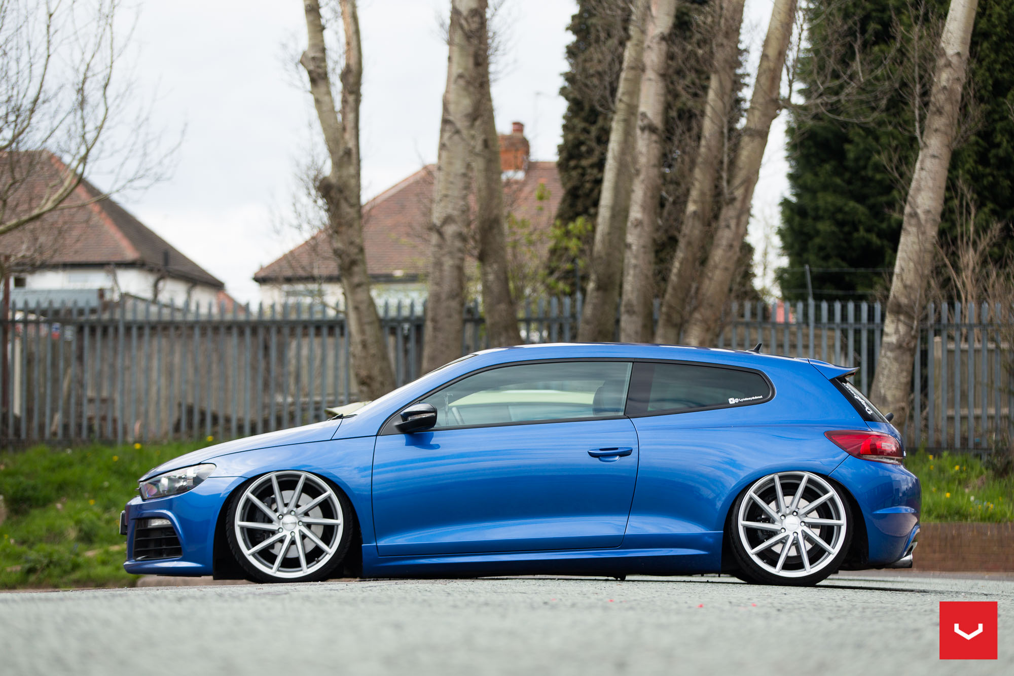 Vw Scirocco On Vossen Cvt And Vle 1 Wheels Showcased In