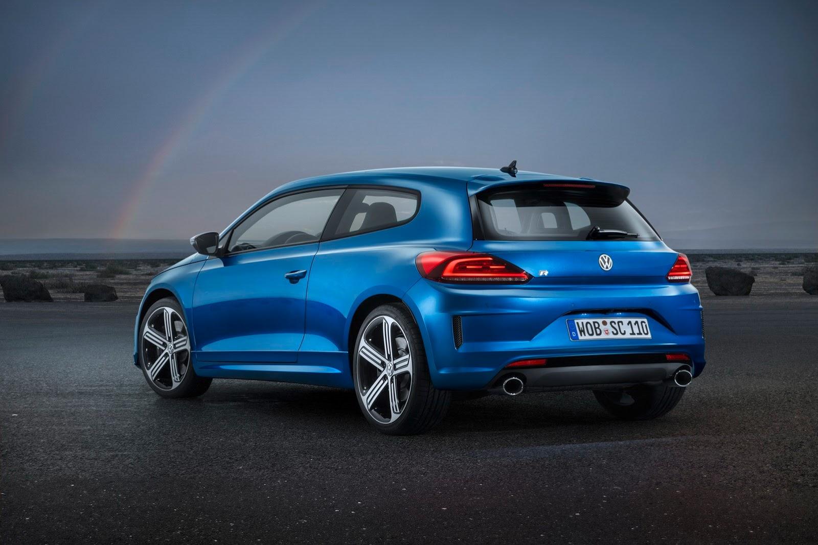 VW Scirocco R Gets 280 HP 2.0 TSI Engine - autoevolution