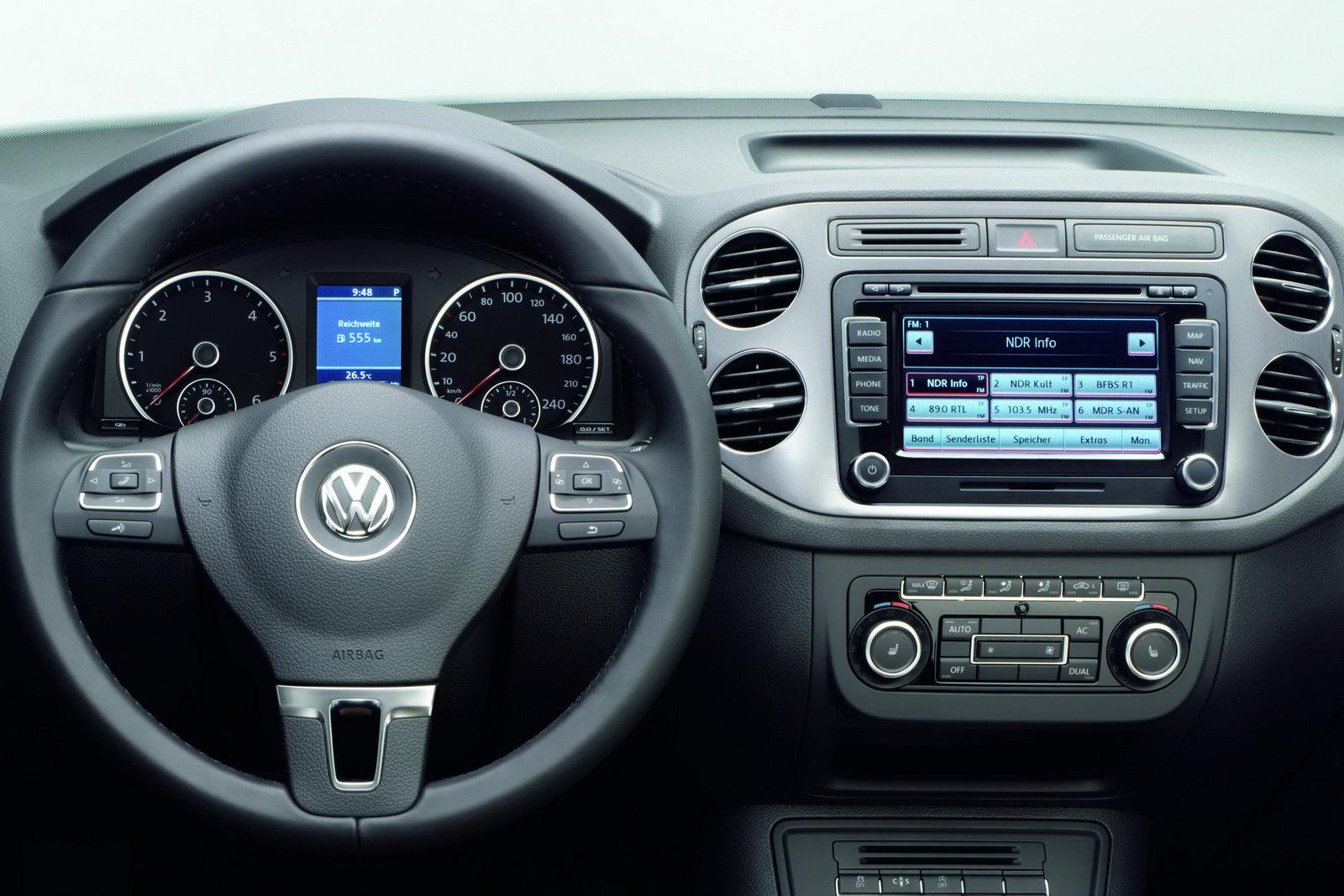 VW Tiguan Facelift New Photos and Details - autoevolution