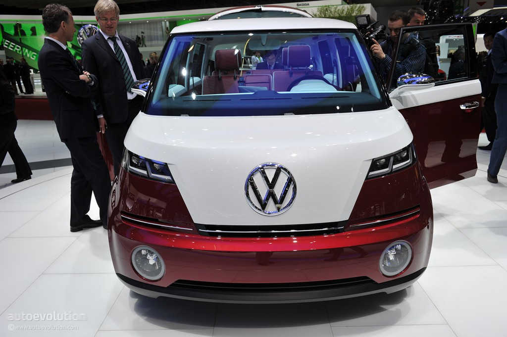 Vw To Build New Microbus Using Bulli Concept Autoevolution