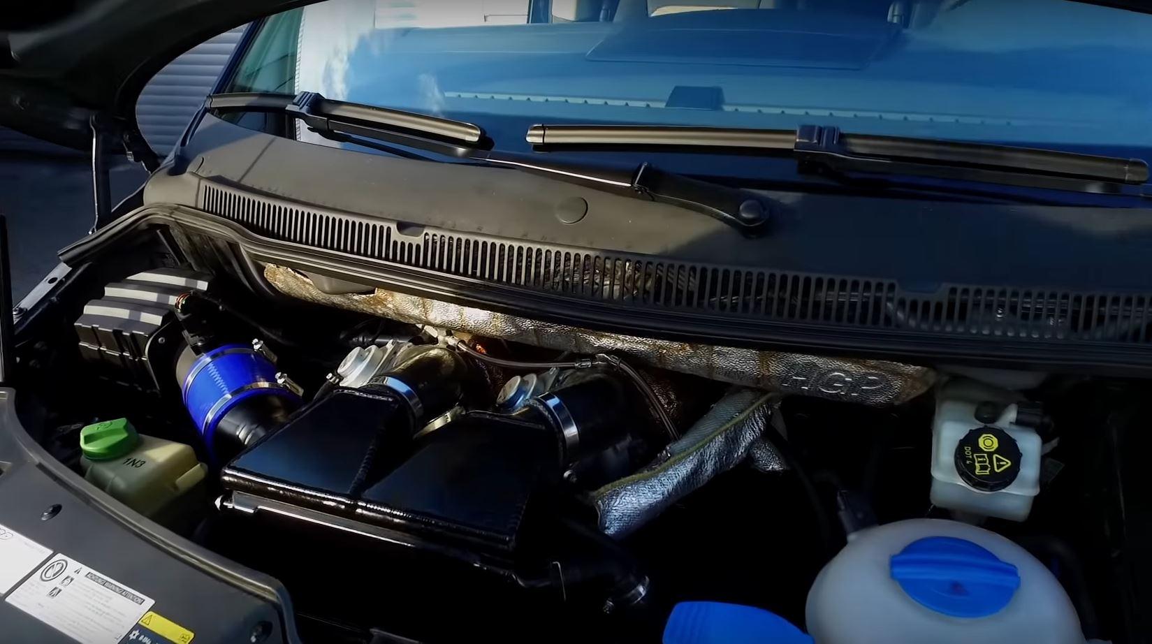 Šialená úprava HGP Volkswagen Multivan T5 3.6 V6 biturbo - motor ako sedmičkový Golf