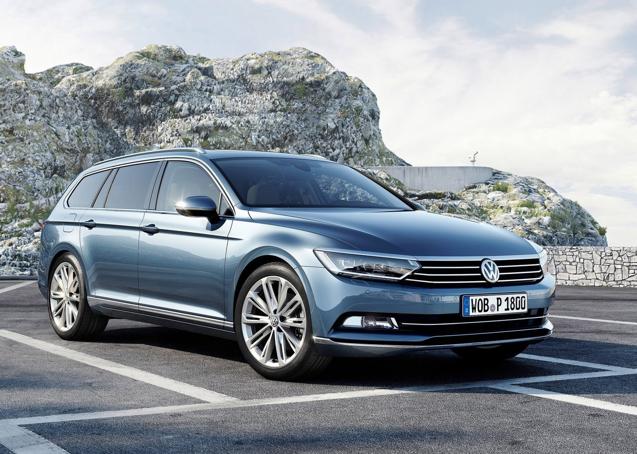 vw unveils new look euro spec 2015 passat autoevolution. Black Bedroom Furniture Sets. Home Design Ideas