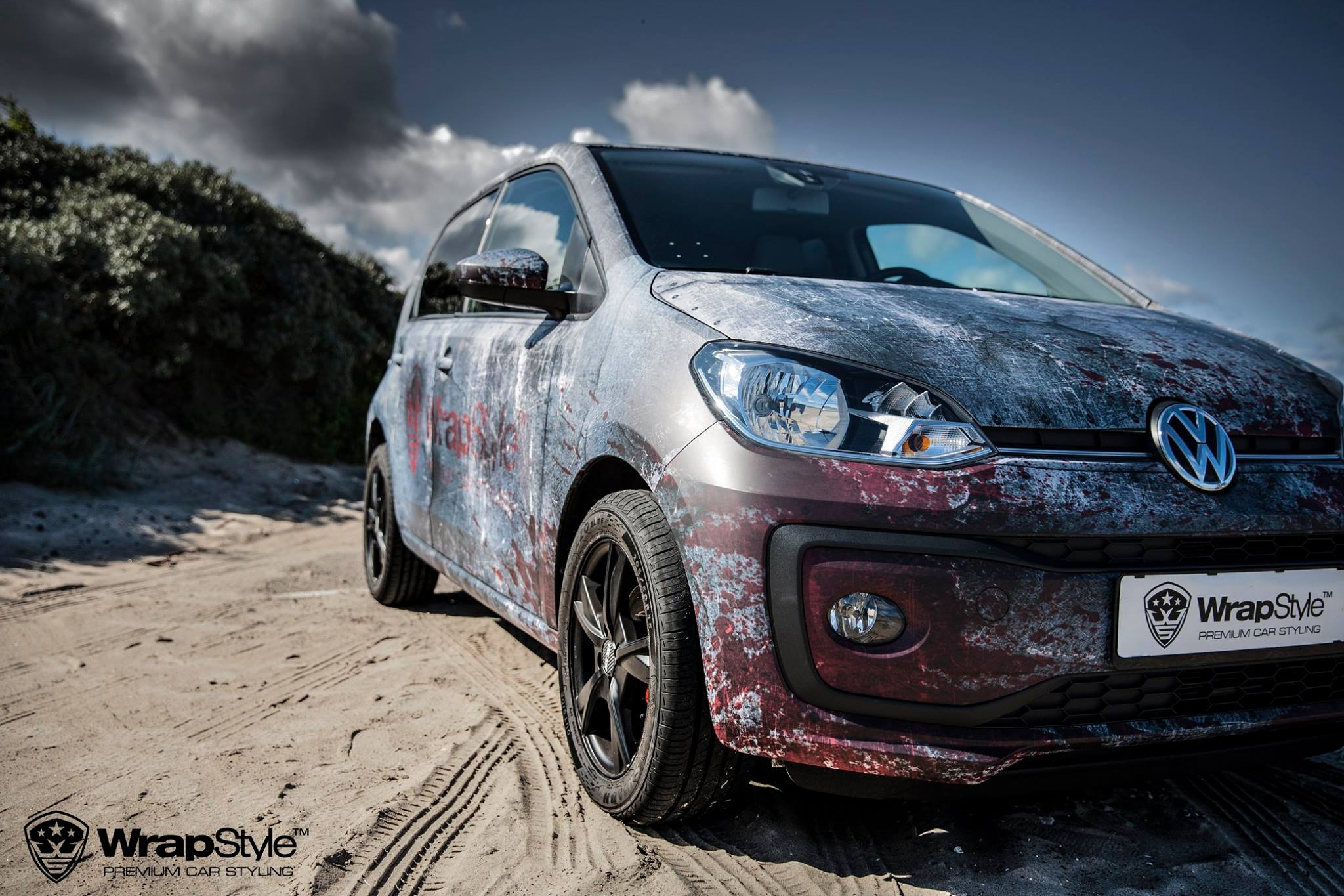 Vw Up Rust Wrap And Sexy Photo Shoot Are Confusing