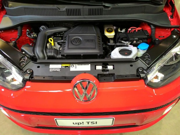 Vw up tsi with 105 hp 1 liter turbo launched in brazil autoevolution