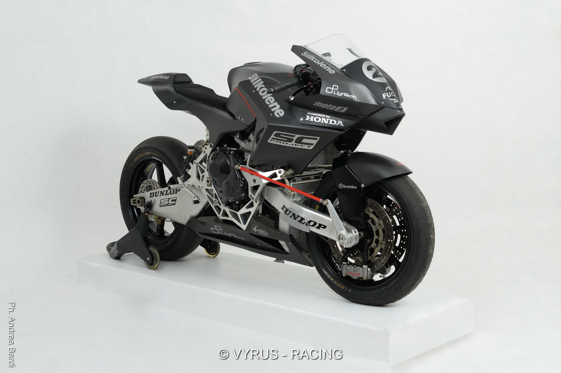 Vyrus 986 M2 To Compete In The Cev Moto2 Races Autoevolution