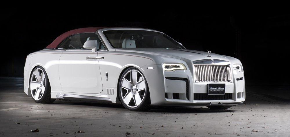 Miami Auto Show >> Wald Black Bison Rolls-Royce Dawn Is a Crazy Tuned Luxury Convertible - autoevolution