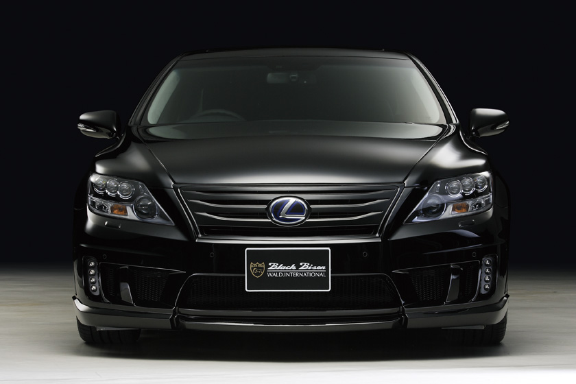 Wald International Darkens The Lexus Ls600h Autoevolution