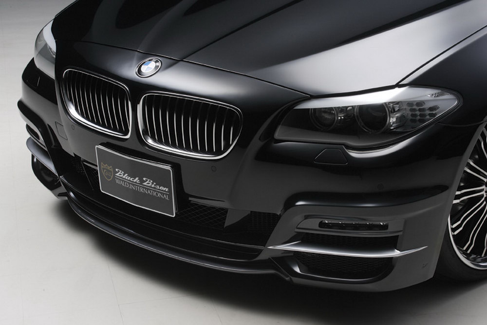 Wald international Gives BMW 5-Series the Black Bison Look ...