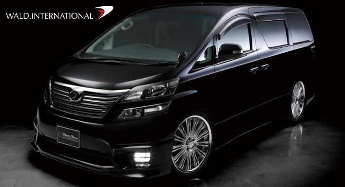 Wald International Releases Toyota Vellfire Z Grade Executive Line
