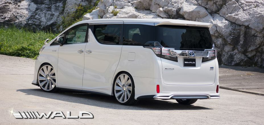 Wald International s Exterior Kit for the Toyota    Vellfire
