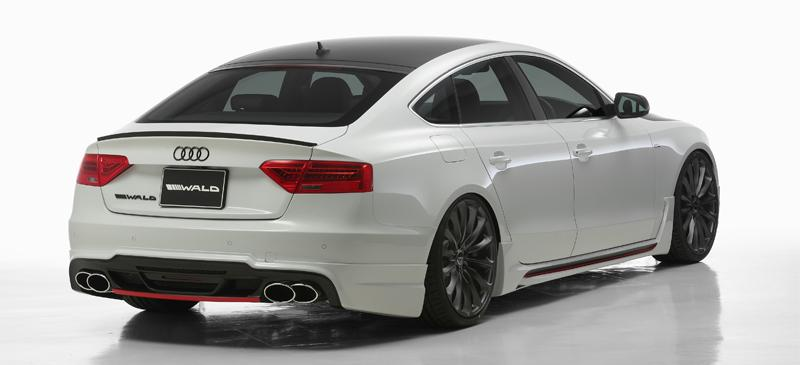 Audi A5 Sportback Gets Aggressive Body Kit from Wald International ...