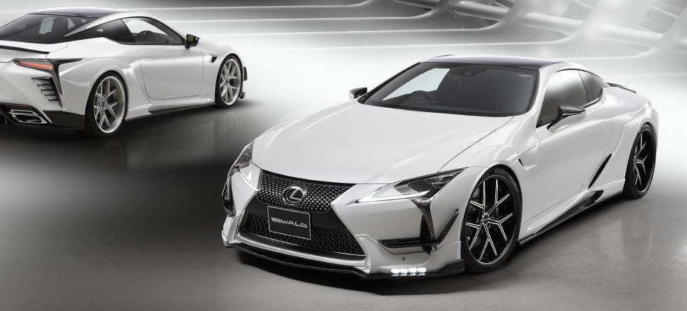 Wald Lexus Lc Widebody Kit Is Ready And Looks Too Good Autoevolution