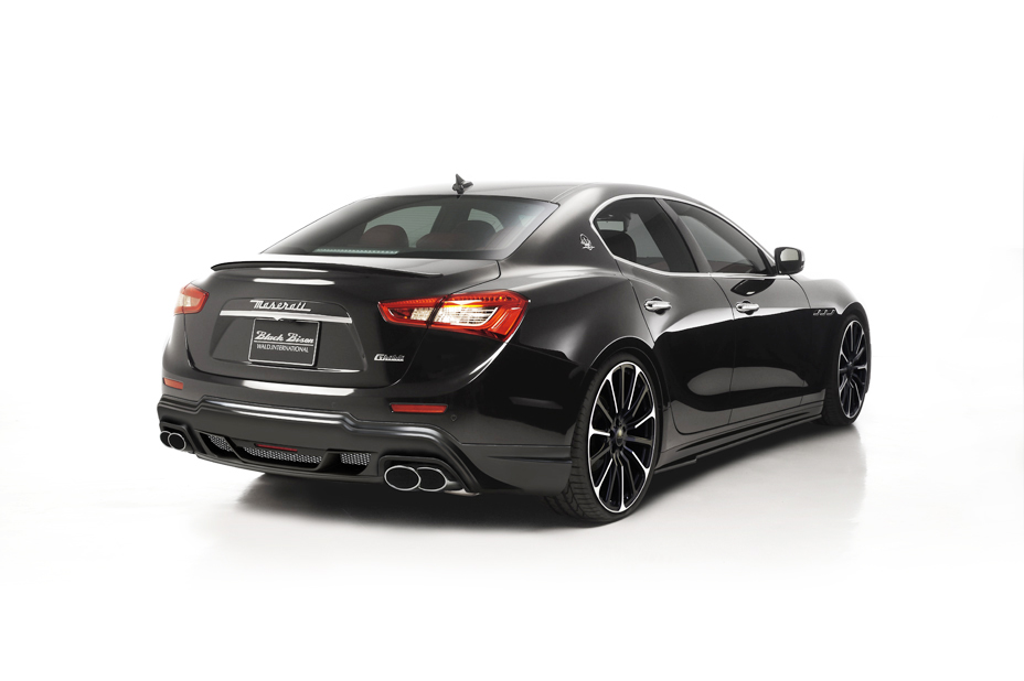 Wald Maserati Ghibli Black Bison Is a Thing of Beauty - autoevolution