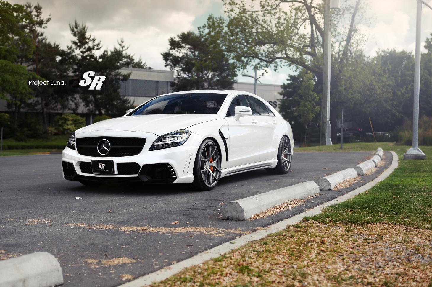 Wald mercedes cls63 amg touched by sr auto autoevolution for Cls home