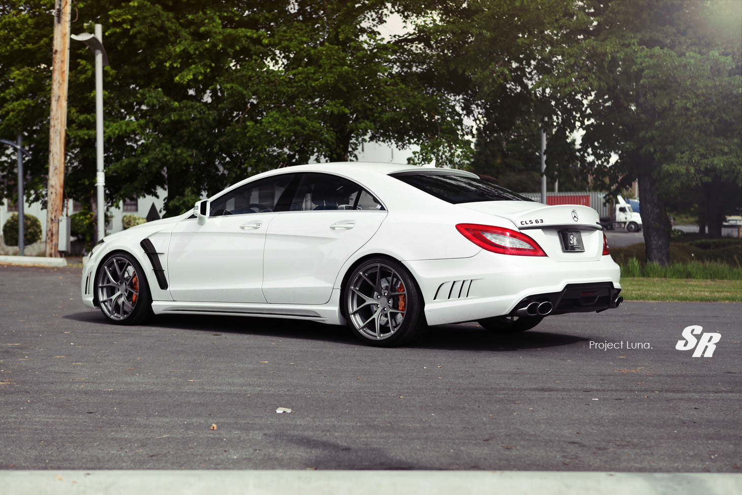 wald mercedes cls63 amg touched by sr auto autoevolution. Black Bedroom Furniture Sets. Home Design Ideas