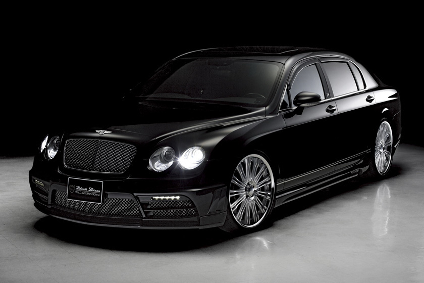 Wald Bentley Continental Flying Spur Black Bison Photo