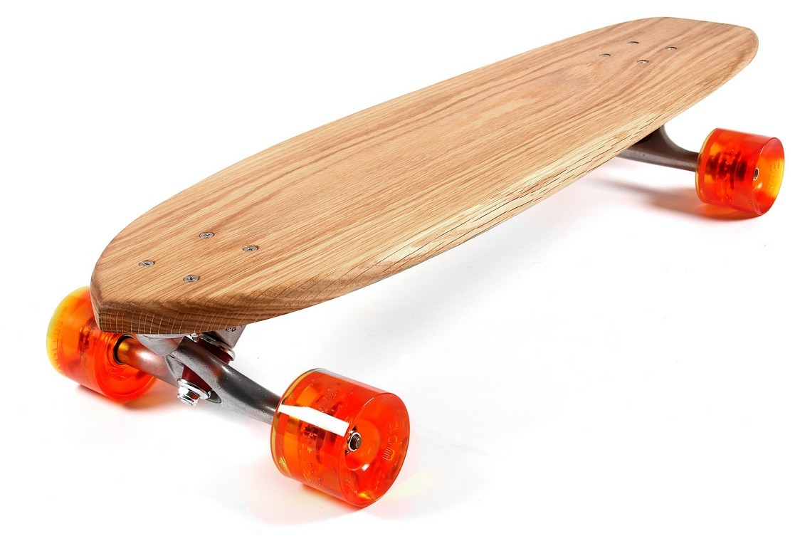 Walnut Hand Made Skateboards Make You Want To Touch Them Autoevolution