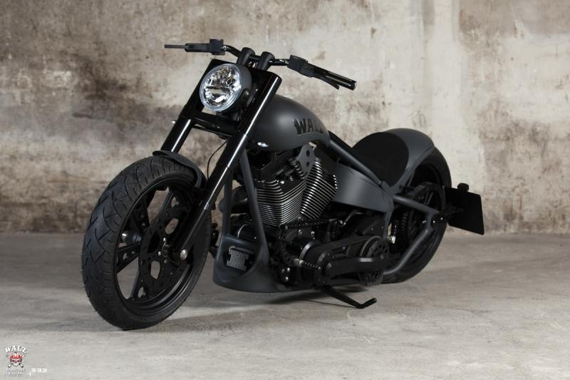 Walz Hardcore Adrenaline Custom Bike Looking As Fierce As