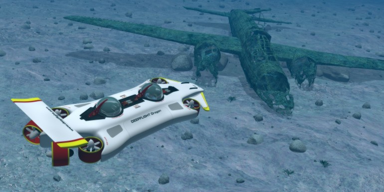 Want A Personal Submarine Check Out The New Deepflight