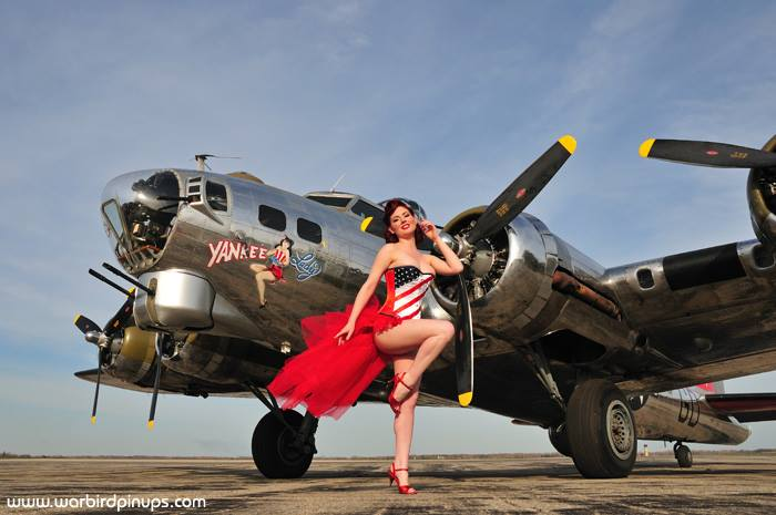 Warbird Pinup Girls Bringing Sexy Back with WW2 Classic ...