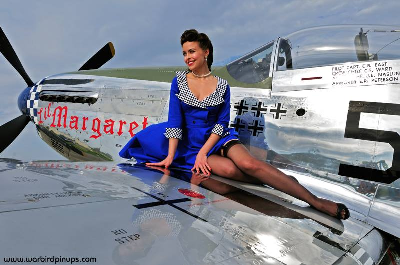 Warbird Pinup Girls Bringing Sexy Back With Ww2 Classic