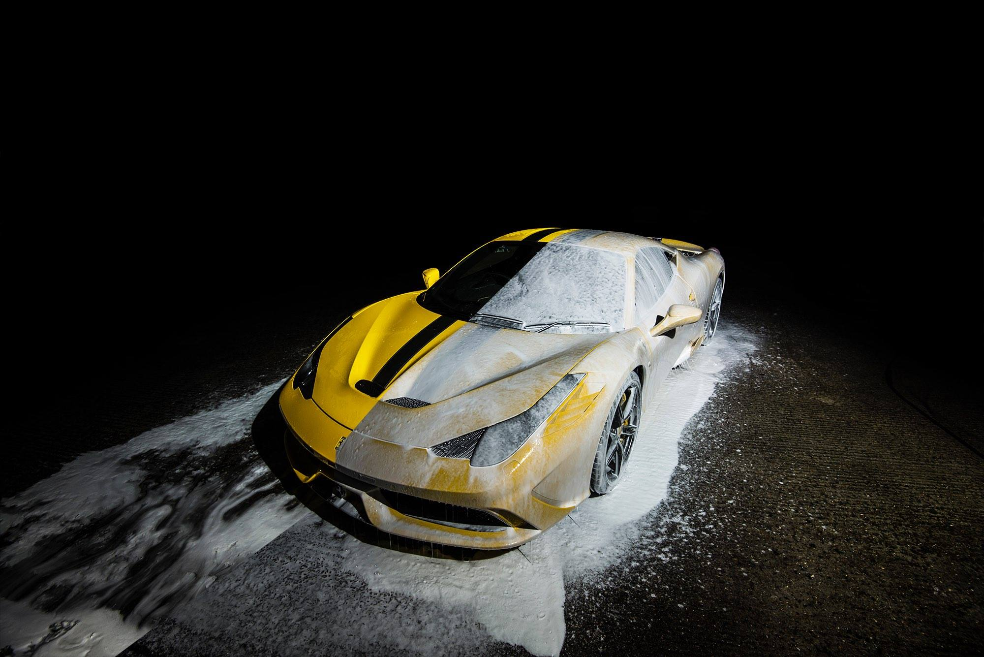 Ferrari 458 Italia For Sale >> Washing the LaFerrari and Ferrari 458 Speciale Is Sexy - autoevolution