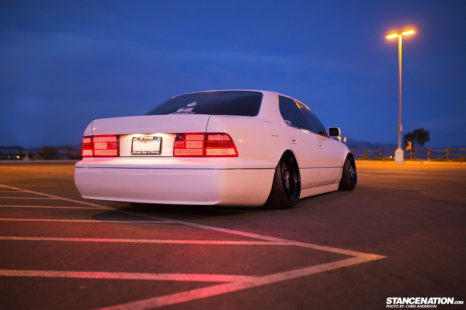 Watch a Nicely Stanced Lexus LS 400 [Video][Photo Gallery]