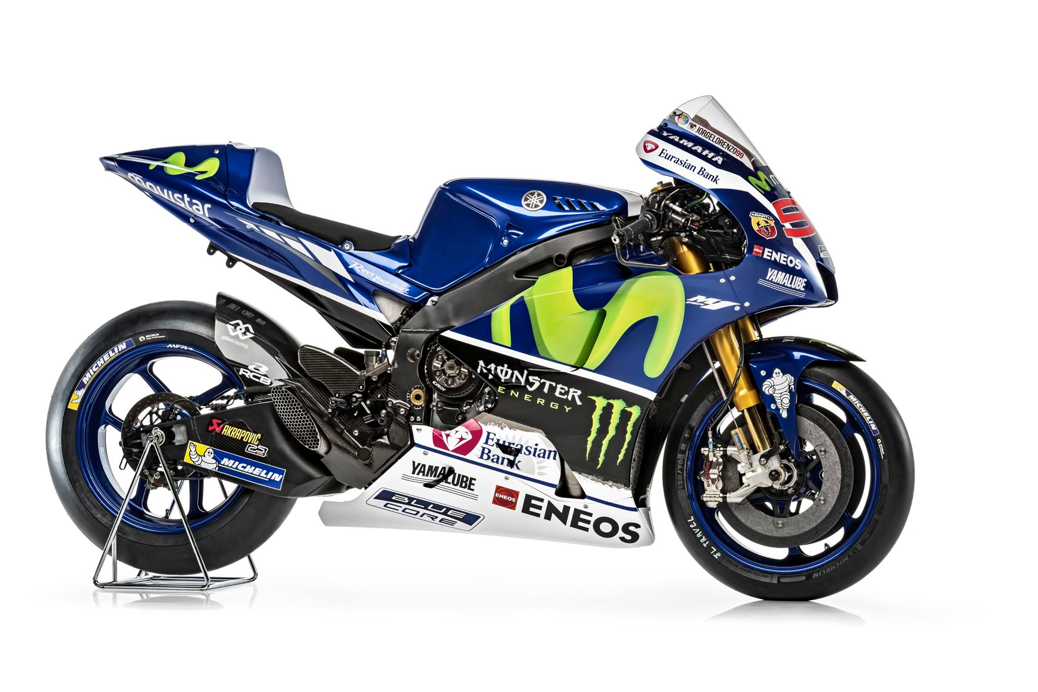 Watch Rossi and Lorenzo Unveil the 2016 YZR-M1 - autoevolution