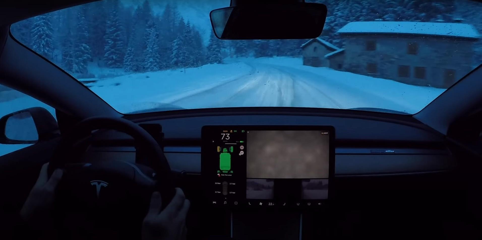 Watch Tesla Model 3 Performance Link Drifts Through Real ...