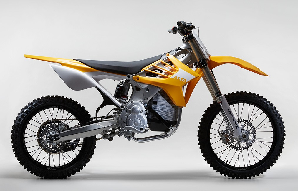 Watch The Alta Motors Redshift Mx Having Electric Dirt