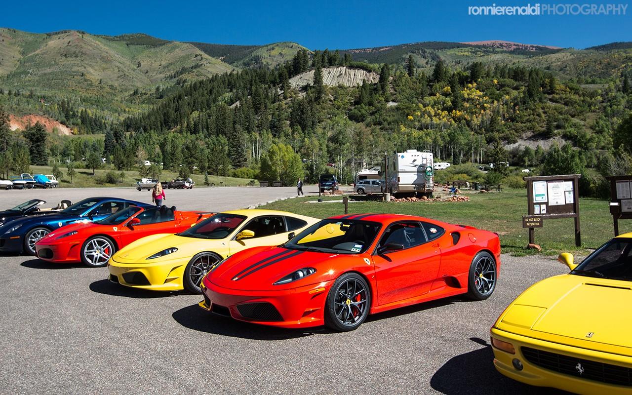 Perfect ... Ferrari Club Of America 2014 Fall Drive ...
