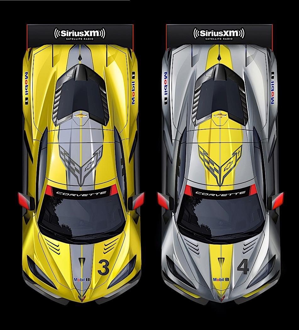 1:43 Chevrolet Corvette Z06-24h Spa AL 2009-Spa-03 Francorchamps 2009