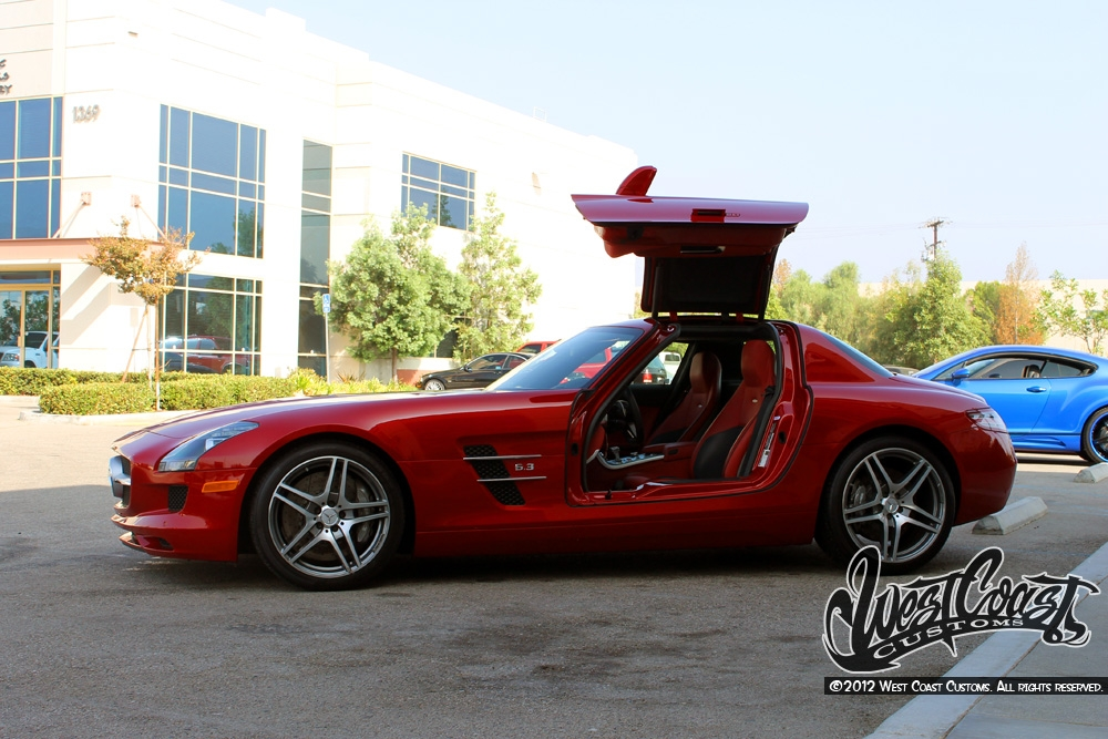 Sls Black Series >> WCC Builds Tyga a Killer Mercedes SLS AMG - autoevolution