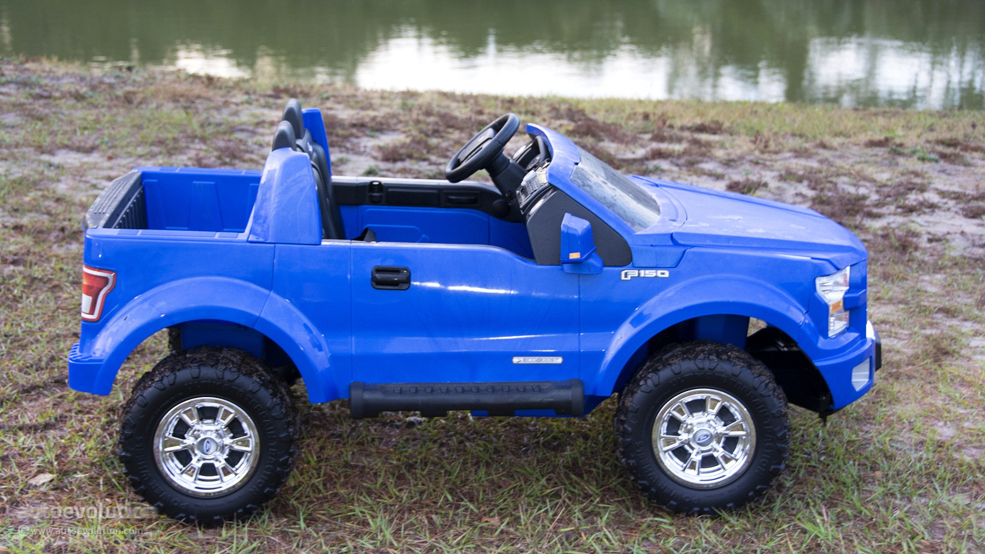 We Review The Power Wheels Ford F 150 The Best Kid Trucker Gift Autoevolution