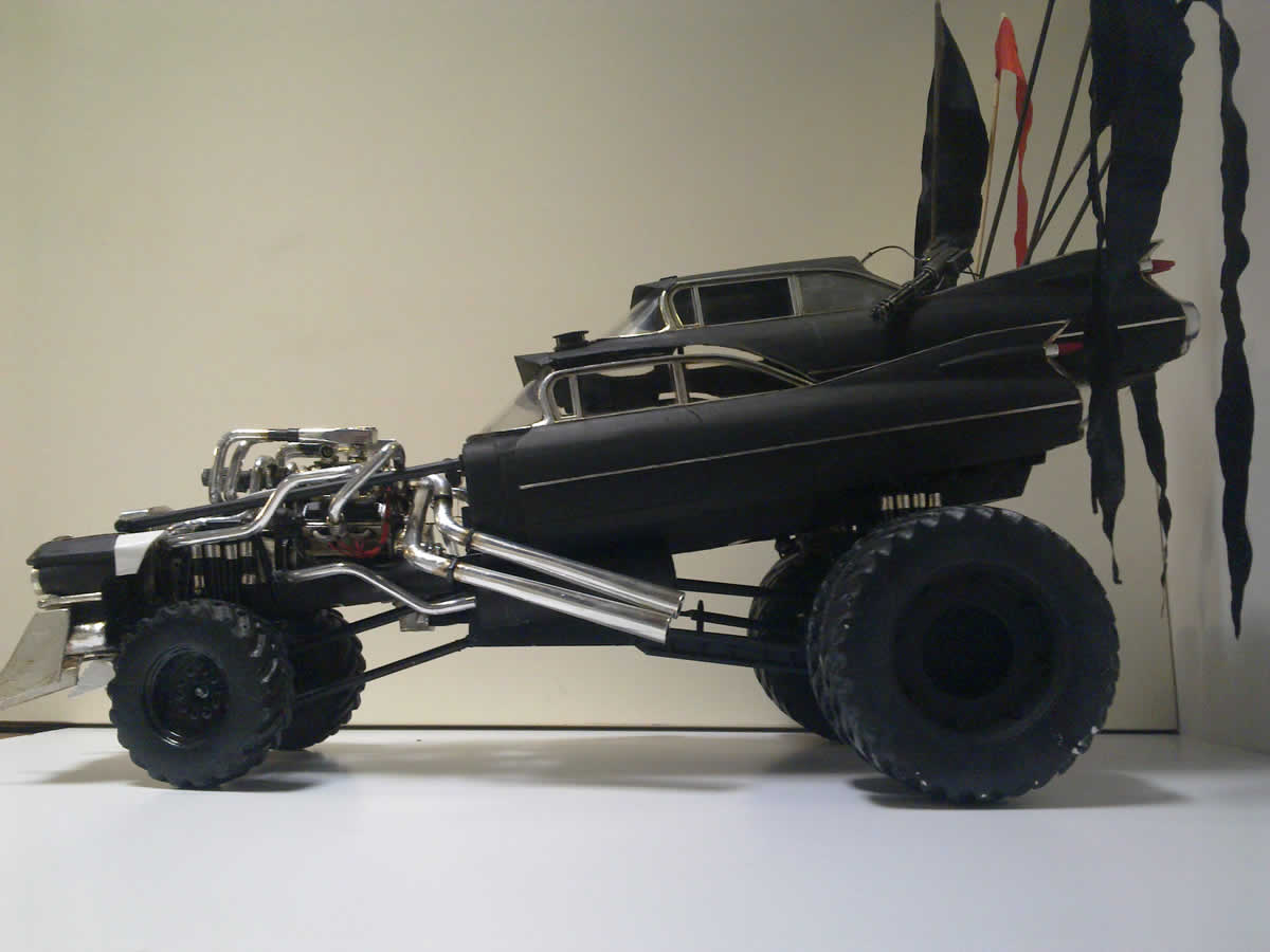 We Want These Mad Max Fury Road Model Cars So Badly Autoevolution