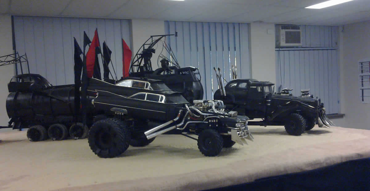 We Want These Mad Max Fury Road Model Cars So Badly