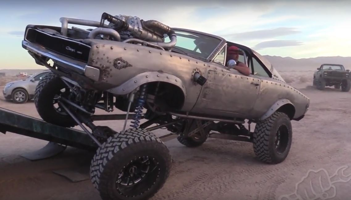 4x4 Dodge Charger >> Welder Up's Overcharged 1968 Dodge Charger, a Diesel Rat Rod that Bullies Jeeps - autoevolution