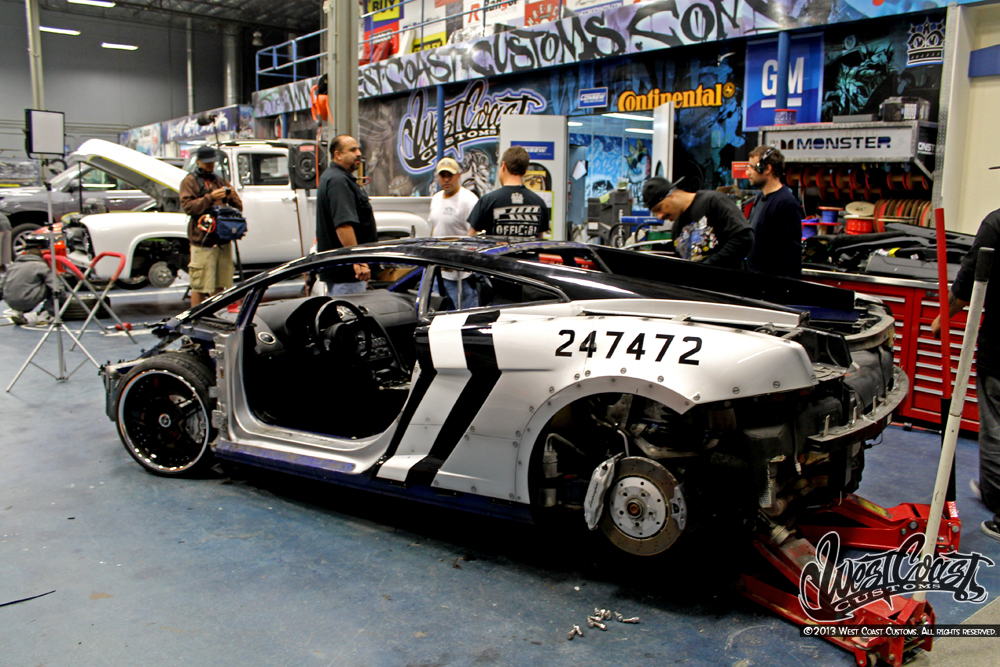 West Coast Customs Built Chris Brown s Gallardo