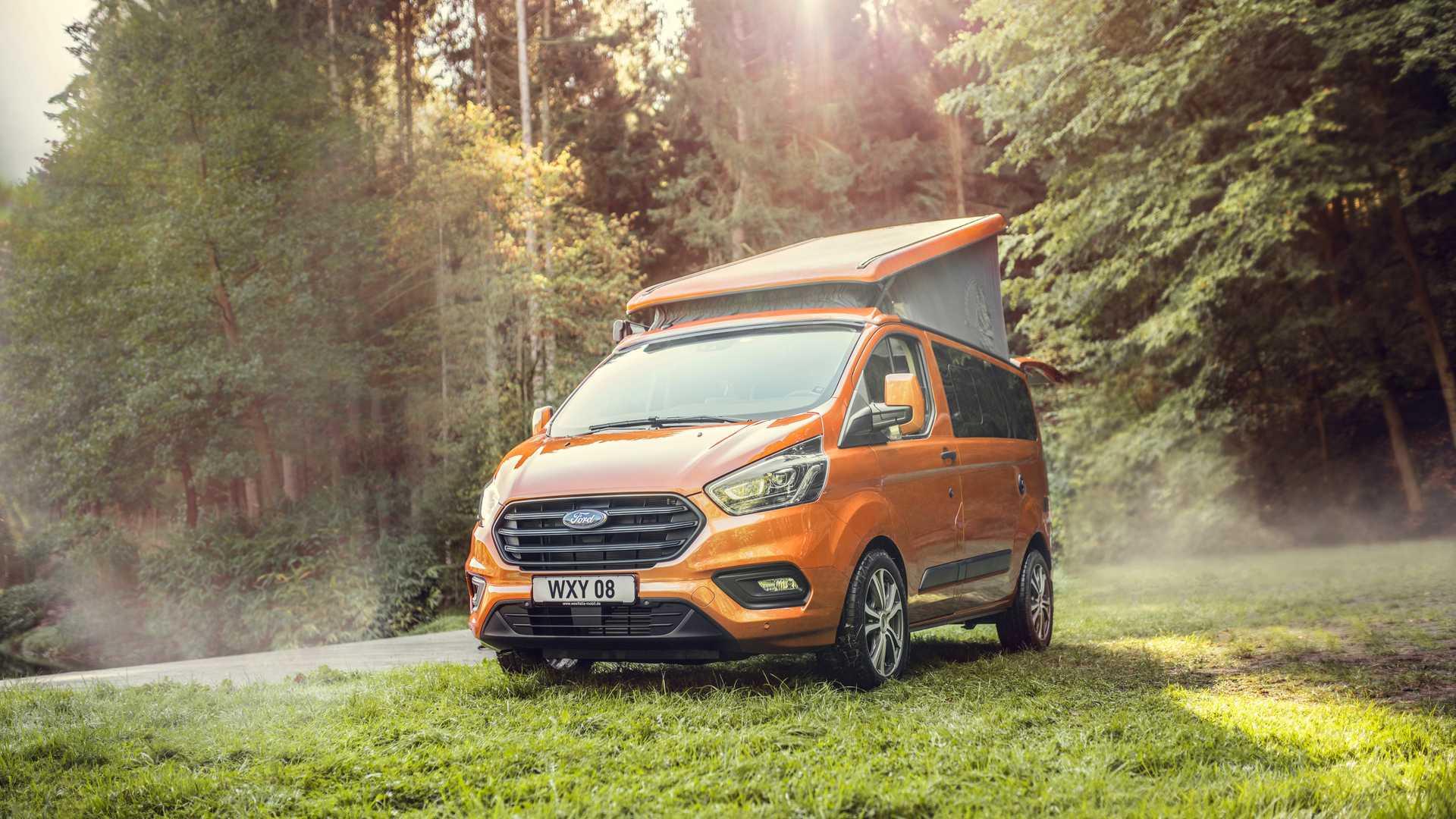 Westfalia, Ford Join Up To Create 2019 Transit Custom ...